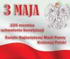 Uroczystość 3 Maja w Mełgwi