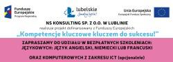 Bezpłatne szkolenia językowe i komputerowe z ICT