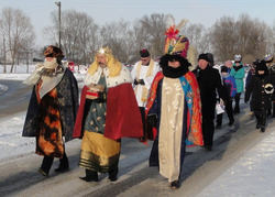 Mieszkańcy gminy Mełgiew w Orszaku Trzech Króli