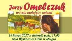 14.02.2017 | Zaproszenie na spotkanie z artystą Jerzym Omelczukiem