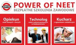 Bezpłatneszkolenia zawodowe w ramach projektu POWER OF NEET