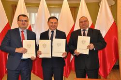Nowe drogi w Gminie Mełgiew...