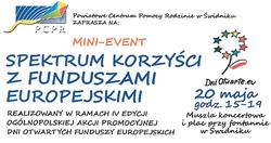 MINI-EVENT spektrum korzyści z funduszami europejskimi