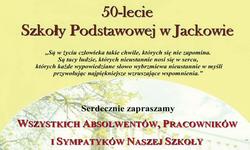 20.05.2017 | Obchody 50 lecia Szkoły Podstawowej w Jackowie.