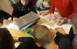 """""""Rok Rzeki Wisły"""" - lekcja dla dzieci ze szkoły podstawowej w Podzamczu"""