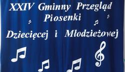 XXIV Gminny Przegląd Piosenki Dziecięcej i Młodzieżowej