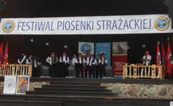 """Zespół Śpiewaczy """"Podzamcze"""" w Ciechocinku"""