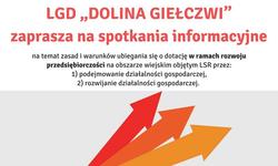 """Spotkanie informacyjne LGD """"Dolina Giełczwi"""""""