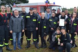 Dominów znowu nagrodzony -Zawody Powiatowe w Biskupicach