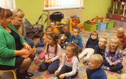 Spotkanie z dziećmi z Przedszkola ,,Bartuś''