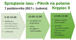 7.10.2017 | Sprzątanie lasu - Piknik Rodzinny - Krępiec II