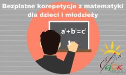 Bezpłatne korepetycje z matematyki dla dzieci i młodzieży