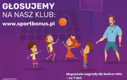 """Trenerze zgłoś swoją drużynę do projektu """" Sportbonus Dzieciom"""""""