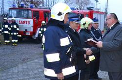 Przekazanie samochodów pożarniczych