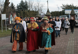 Orszak Trzech Króli w Mełgwi już po raz czwarty