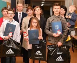 Sportowe nagrody Wójta Gminy Mełgiew
