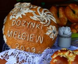 Mełgiew: Powiatowe święto plonów 2019