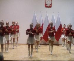 Występ Mażoretek na Wojewódzkim Dniu Pracownika Socjalnego