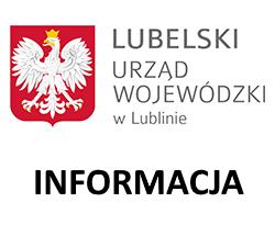 Informacja Wojewody Lubelskiego z 25 marca 2020 r.