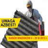 15.10.2013 | Nabór wniosków dot. gospodarowania odpadami azbestowymi i ich usuwania.