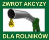 08.01.2015 | Zwrot podatku akcyzowego zawartego w cenie oleju napędowego wykorzystywanego do produkcji rolnej.