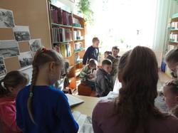 Lekcja biblioteczna dla klasy II